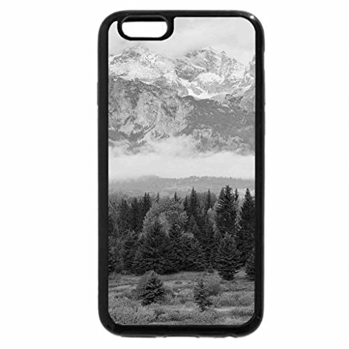 iPhone 6S Plus Case, iPhone 6 Plus Case (Black & White) - great late autumn landscape