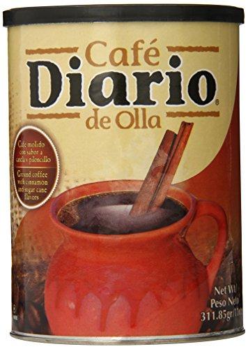 Cafe Diario Ground Coffee, De Olla, 11 Ounce