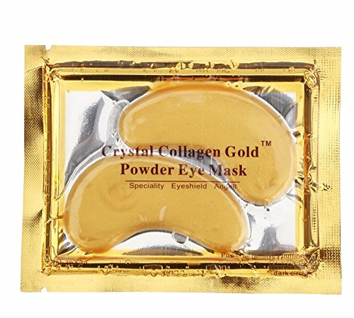 Global Fulfillment 5pc 24K Collagen Crystal Gold Eye Mask Global Fulfilment