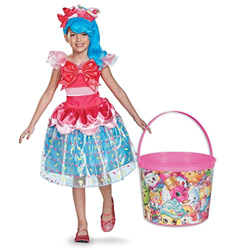 Shopkins Jessicake Deluxe Child Costume and Candy Pail