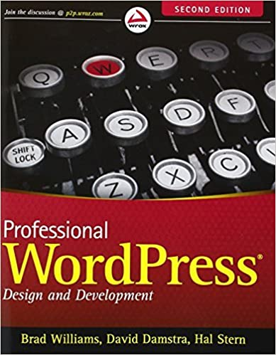 Book Professional WordPress: Design and Development by Brad Williams (2013-01-04)