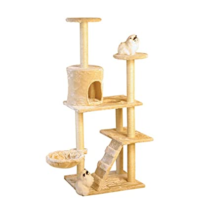 Escaleras y escalones Pet Steps Cat Tree, Arena para Gatos con Escaleras, 6 Steps