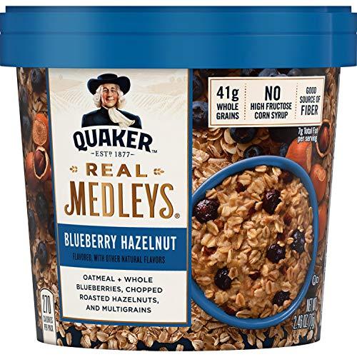 Oatmeal+, Blueberry Hazelnut, Instant Oatmeal+ Breakfast Cereal, 1 Cup ()