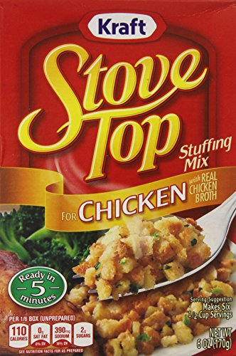 Price comparison product image Stove Top Chicken,  6 Ounce Boxes (Pack of 12)