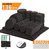 top Furniture%20Pads%20136%20Pieces%20Pack