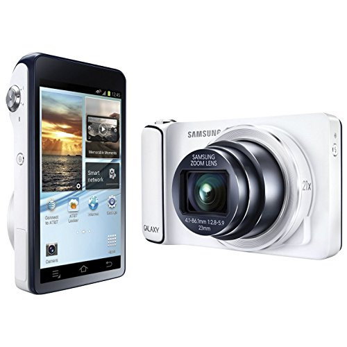 Samsung Galaxy S4 Zoom 16MP Camera Android Smartphone - White (International Version)  samsung zoom | Samsung Galaxy K Zoom Review! 51PiXbC0DYL