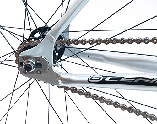 BLUE LEHIGH AL 53cm 700c 6061 Alloy Track Fixed Gear Single Speed Bike NEW