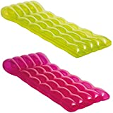 """Intex Color Splash Inflatable Lounge, 75"""" x 32"""", (Colors May Vary), 1 Pack"""