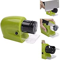 UORNI Ventures Swifty Sharp Cordless Motorised Sharpener for Knife (Green Color)