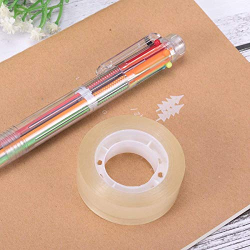 LaOficina 24 Rolls Transparent Tapes Clear Invisible Tape, 0.7'' x 32 yds, for School Office by LaOficina (Image #3)