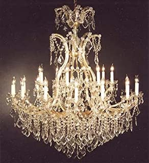 Crystal Chandelier Lighting Chandeliers Size: H52 Part 95