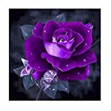 Flower Beads Diamond Painting Full Square 5D DIY Drill Flowers Dp Rhinestone Embroidery Arts Craft Paint-by-Number Kits Cross Stitch