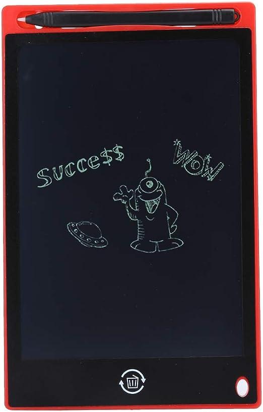 子供たちの落書きボード手書き耐久性のある液晶8.5インチの描画ボード、子供たちと遊ぶ(Big red)
