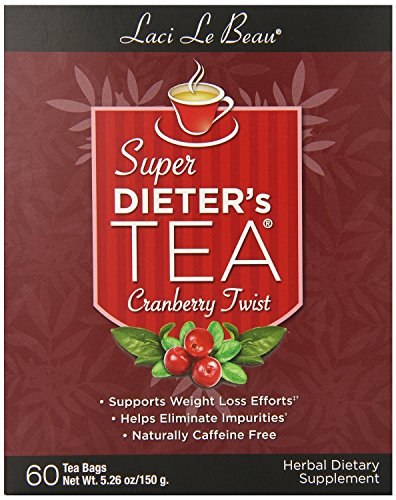 Super Dieters Tea Cranberry Twist Natrol