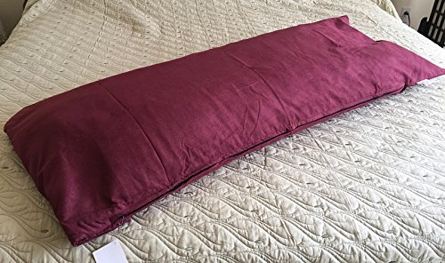 OctoRose Bonded Micro Suede Body Pillow Case / Cover with 42