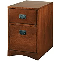 Martin Furniture Mission Park Rolling File Cabinet