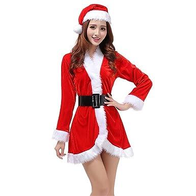 dou616 Lencería, Traje de Navidad Vestido de Navidad Etapa ...