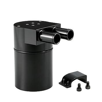 KKmoon Catch de Aceite Reservoir Tank Captura de Aceite Filtro Incorporado para Coche Universal