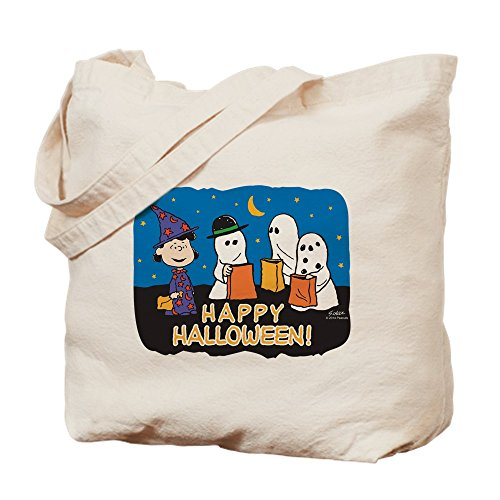 CafePress Tote Bag - Peanuts Snoopy The Peanuts Gang Happy Halloween Tote Bag by CafePress