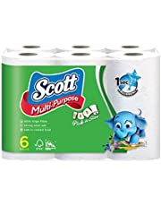 Scott Pick-A-Size Multi Purose Towels, 50ct (Pack of 6)