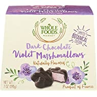 Whole Foods Market, Dark Chocolate Violet Marshmallows, 7 Oz