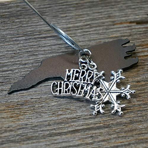 - NORTH Carolina Christmas Ornament SMALL 2