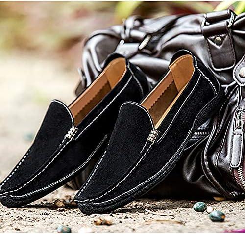 GPF-fei Herenschoen Loafers Schoenen Bootschoen Doek Schoenen Canvas Ronde teen schoen Mode Mode Zacht Ademend Vrije tijd Lichtgewicht, Zwart, 39 w9A5tdQC