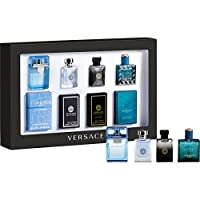 Versace Miniature Men Fragrance Collection 4 Piece Gift Set