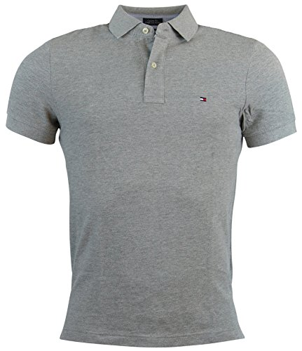 tommy-hilfiger-mens-custom-fit-solid-color-polo-shirt-xl-gray