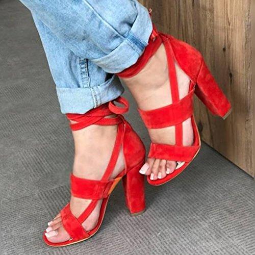 two femminili Forty tacco bendaggio super sandali Scarpe Donyyyy cross 1qxvO8g5