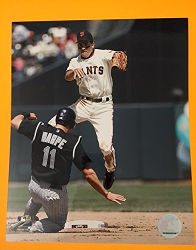 - Omar Vizquel San Francisco Giants unsigned 8x10 photo Fully Licensed