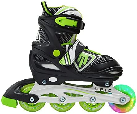 Epic Skates Rage Adjustable Inline Skates