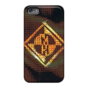 Protective Tpu Case With Fashion Design For Iphone 6 (machine Head Band)