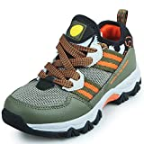 Zarbrina Boys Sneakers Outdoor Hiking Shoes Non Slip Foot Protection Fashion Sneaker(Little Kid/Big Kid)