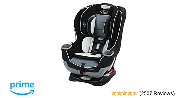 Amazon Graco Extend2Fit Convertible Car Seat Gotham Baby