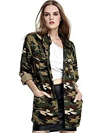 camouflage jacket women clothing shoes jewelry. Black Bedroom Furniture Sets. Home Design Ideas