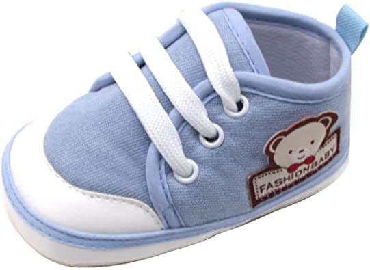 Amiley Baby Boots Baby Winter Lacing Sneaker Anti-Slip Soft Sole Toddler