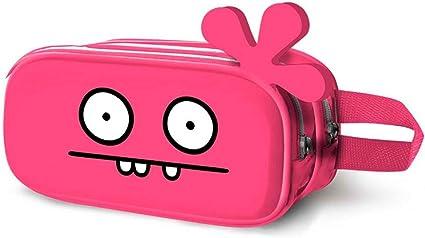 Uglydolls - Estuche escolar 3D (22 cm), color rosa: Amazon.es: Oficina y papelería
