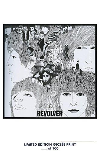 Revolver Album Cover - RARE POSTER movie THE BEATLES: REVOLVER music 1966 album COVER REPRINT #'d/100!! 12x18