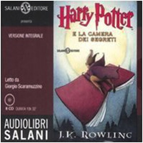 Harry Potter e la camera dei segreti. Audiolibro. 8 CD Audio (Italian Edition)