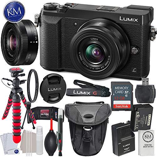 Panasonic Lumix DMC-GX85 Mirrorless Camera Bundle (Essential Bundle, Black)