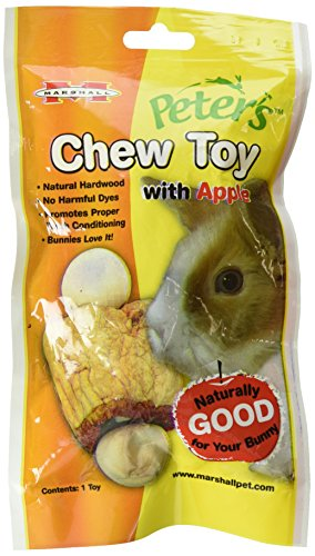 - Peter'S Chew Toy For Rabbits And Small Animals, Apple