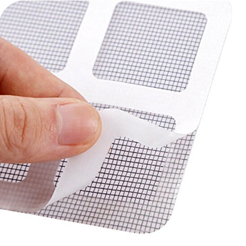 3PCS Anti-Insect Repair Tape Pulison Fly Door Window Mosquito Screen Net Repair Tape Patch Adhesive Allow Fresh Air in While Keeping Out Flies by Pulison (Image #5)