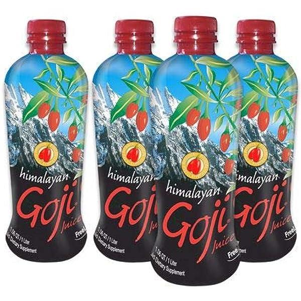 Amazon Com Himalayan Goji Juice Case Of 4 1 Liter Bottles