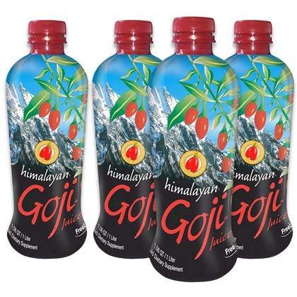 Himalayan Goji Juice - Case of 4 - 1 Liter Bottles