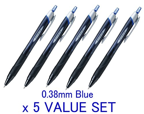 Uni ball Jetstream Retractable 0 38mm blue Ink value product image