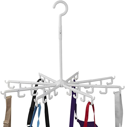 Baby Clothes Scarf Bras Gloves Z ZICOME 2 Pack Stainless Steel Laundry Drying Rack Clothes Hanger with 10 Clips for Socks Underwear Hat Pants Towel Cloth Diapers