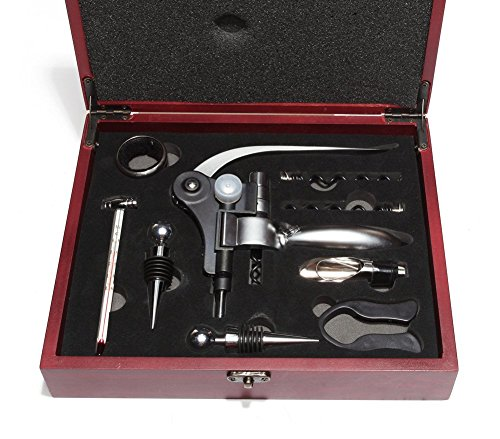 Wine Opener Kit The Only 9 Piece Gift Set That Includes