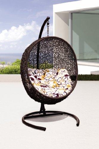 Tigan - all Season Outdoor Swing Chair - Y9068BK