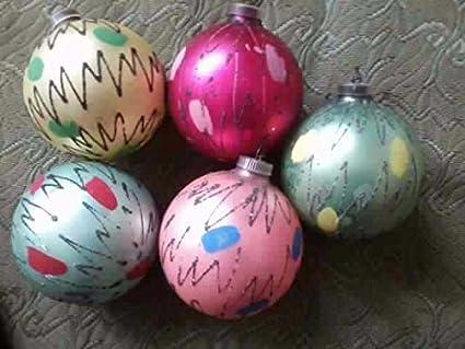 Five Vintage 'Splash' West Germany Christmas Ornaments (D.B.G.M.) - Amazon.com: Five Vintage 'Splash' West Germany Christmas Ornaments